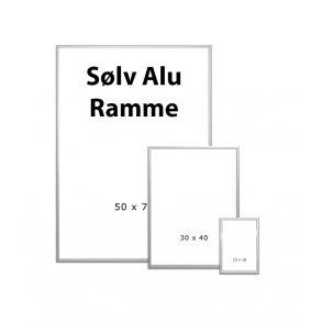 Sølv Alu Rammer